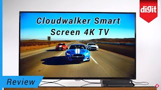 Cloudwalker 55 inch 4K TV Review - How Does The Cloudwalker Smart Screen Android TV Perform?