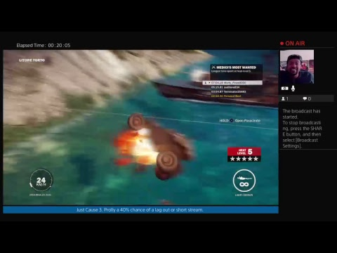 TANK WARFARE Just Cause 3 LIVESTREAM [RANDOM] thumbnail