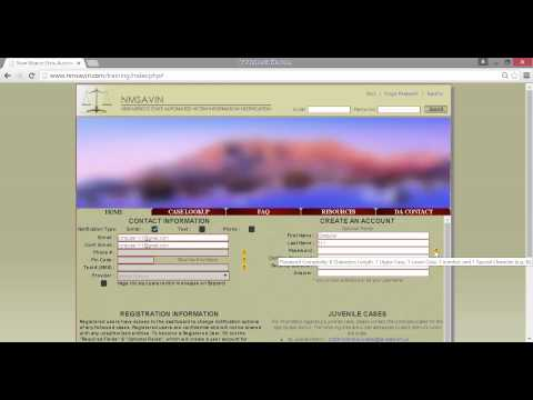 Register As A Regular User on NMSAVIN