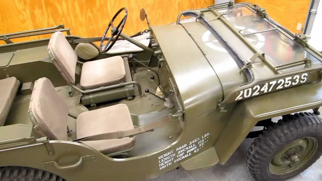 1943 willys mb jeep walk around youtube. Black Bedroom Furniture Sets. Home Design Ideas