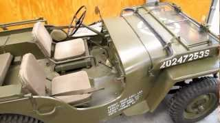 1943 Willys MB Jeep - Walk Around