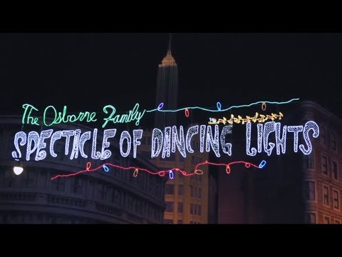 Disney's Hollywood Studios Osborne Family Spectacle Of Dancing Lights 2013