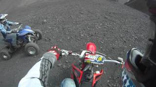 Justin n James riding coal hills- Treverton,PA