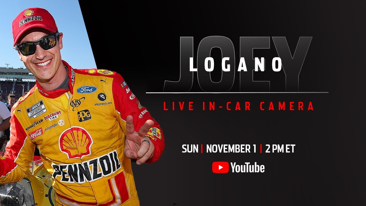 Joey Logano's live in-car camera presented by Coca-Cola | NASCAR Playoffs