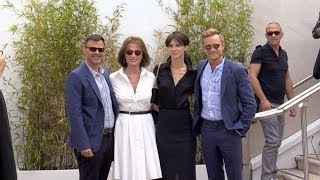 Jeremie Renier, Marine Vacth, Jacqueline Bisset and more at L'Amant Double photocall in Cannes