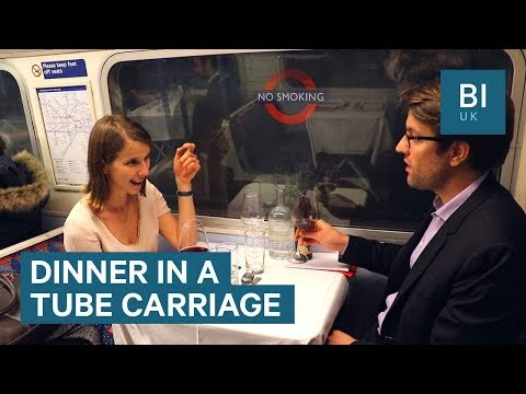 You Can Dine In A Decommissioned Tube Carriage In London