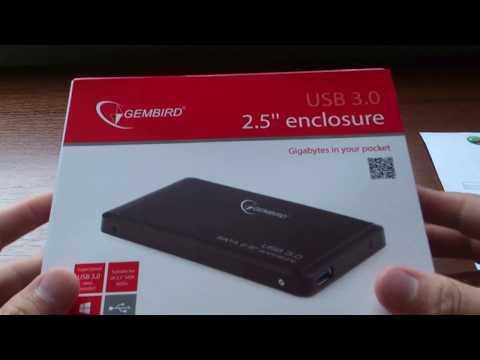 "Внешний карман Gembird для HDD 2.5"" USB 3.0 (EE2-U3S-2)"