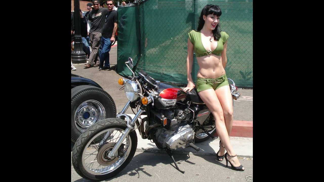 Cafe Racer Girl Wallpaper Motos Antiguas Old Vintage Motorbikes Bmw Compilation