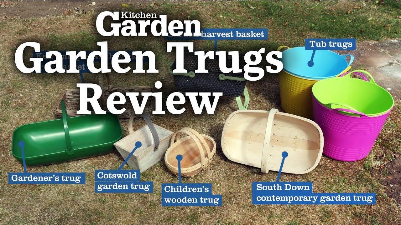 Garden trugs review | Kitchen Garden Magazine | September 2018