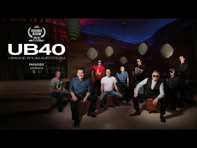 UB40 x THTC x ORANGE ROOM in Amsterdam