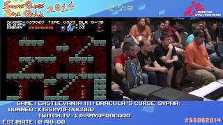 Summer Games Done Quick 2014 - Part 131 - Castlevania III: Dracula's Curse