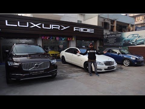 Luxury Sports Car Dealership | Hidden Second Hand Luxury Car Market | Delhi | Luxury Ride