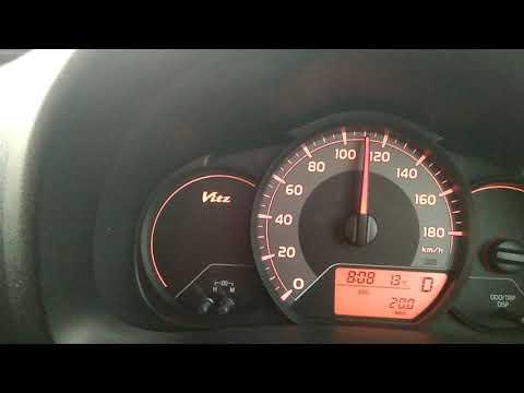Максимальная скорость Тойота витц  1л Toyota Vitz 2015 гв.