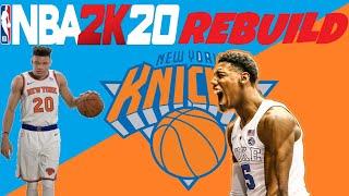 NBA2K20 MyLeague New York Knicks Rebuild!!!
