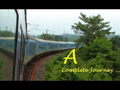 HIGH SPEED Crossings & MONSOON Delight : LHB Ranchi Shatabdi : A Complete Journey