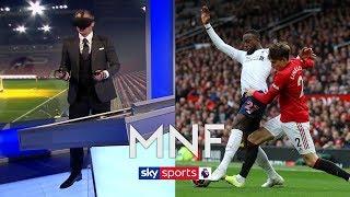 Jamie Carragher uses virtual reality to see Origi 'foul' through referee's eyes | MNF