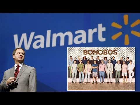 Walmart Buys Bonobos Men's Wear Company for $310M in Ongoing War Against Amazon