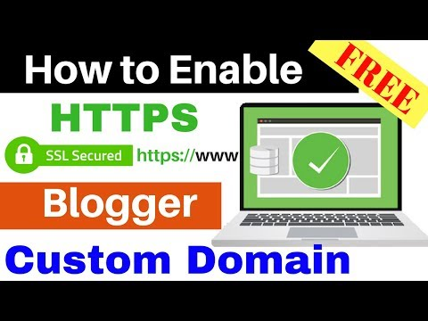 How To Enable HTTPS For Blogger Custom Domain in Hindi