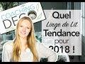 Linge de Lit Tendance pour 2018