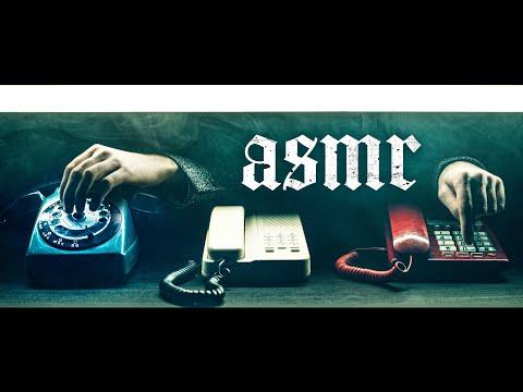 ASMR Low Mumble in VINTAGE PHONES ☎️(Soft Spoken)