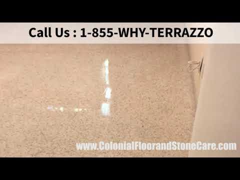 Choose Proper Terrazzo Floor Polishing Service in Boca Raton