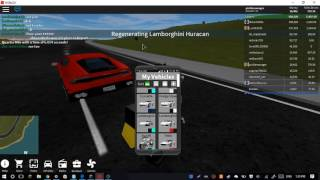[Roblox Vehicle Simulator] Lamborghini Startup Sounds (Aventador SV and Huracan)