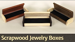 268 - Scrapwood Jewelry Box