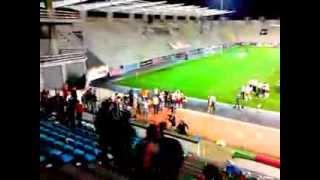 Confrontos no estádio dos Barreiros (Marítimo - Braga)