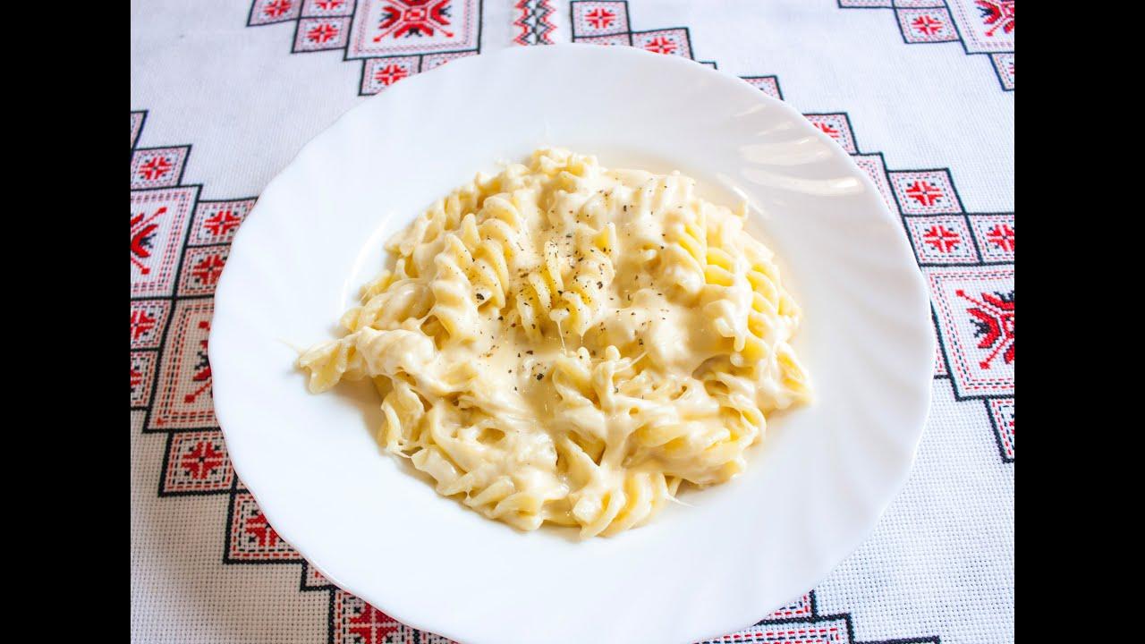сырный соус спагетти рецепт