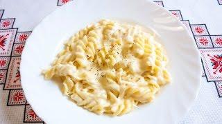 СЫРНЫЙ СОУС для макаронов Как сделать сырный соус СИРНИЙ СОУС для макаронів