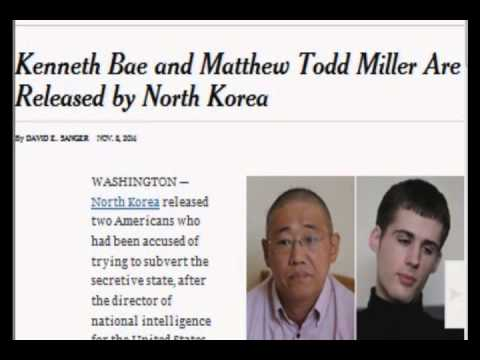 Kenneth Bae and Matthew Todd Miller Released From North Korea