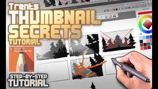 Secrets of Thumbnail Drawing (Real-time)