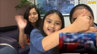 Family  Reacts to Voice Duo OneUp Battles Kymberli Joye to Mercy   The Voice 2018 Battles