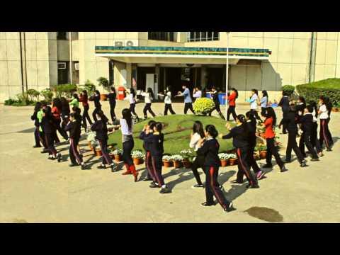 Flash Mob Shri Ram School Kids