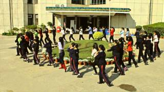 Flash Mob Shri Ram School Kids