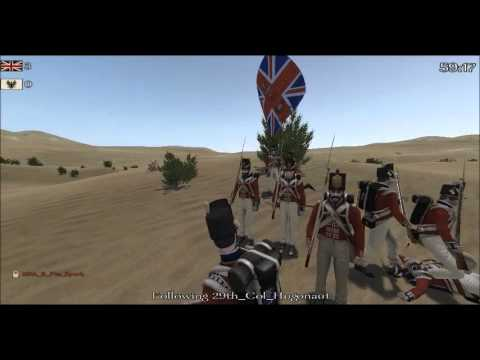 29th vs the 102nd (Napoleonic Wars Line Battle)