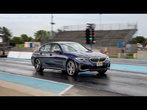 2019 BMW 330i Vs. 2020 BMW M340i: At the Drag Strip — Cars.com