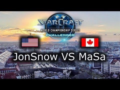 JonSnow VS MaSa - WCS Leipzig NA Qualifier - Ro8 - polski komentarz - ZvT
