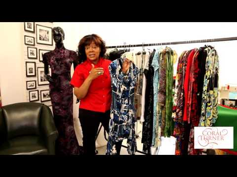 Handmade Dresses - One of A Kind with Coral Turner EP1