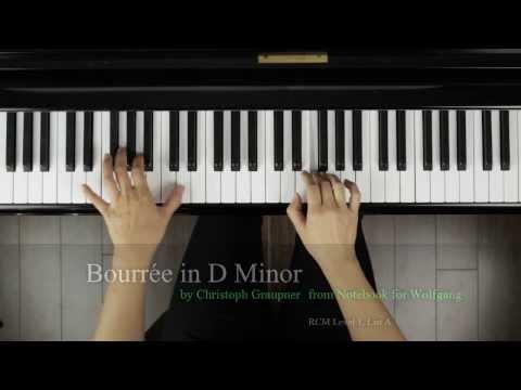 Finger Tips: Bourrée in D Minor