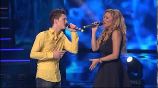Harun Mehmedagic i Ivana Selakov - Ako je do mene - (live) - ZG 14/15 - 05.07.2015. EM 46.