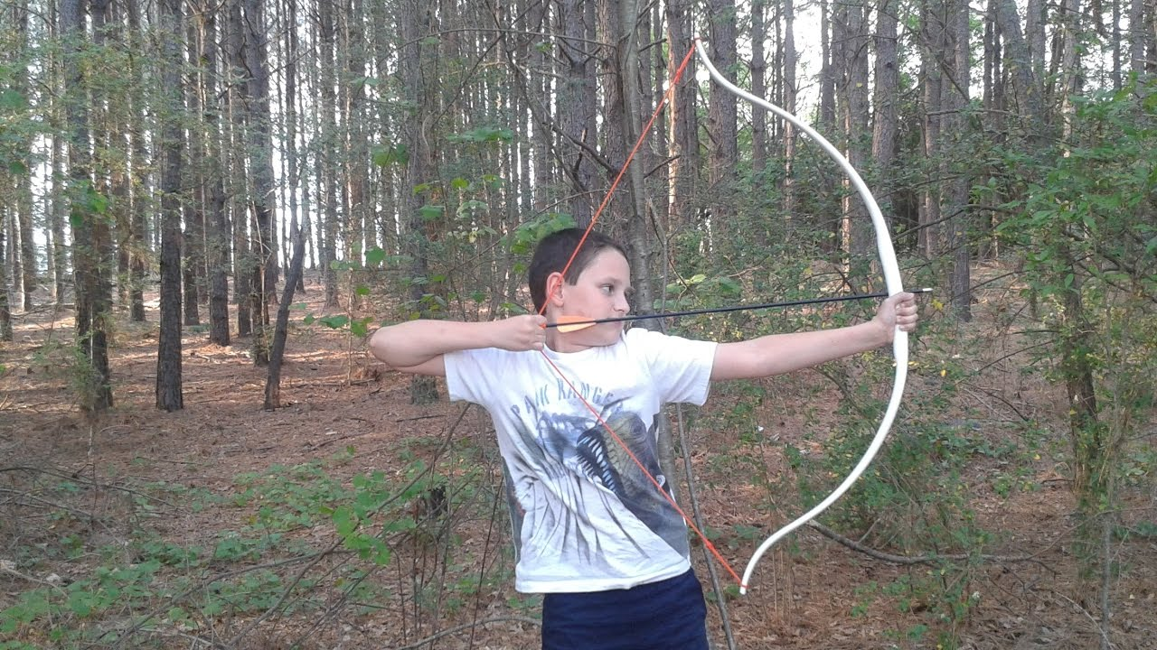 Best way to bend pvc making a kids pvc bow part 1 for Kids pvc bow