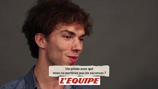 «Avec Verstappen en kart, on a fini plusieurs fois dans le bac à graviers» - F1 - Pierre Gasly