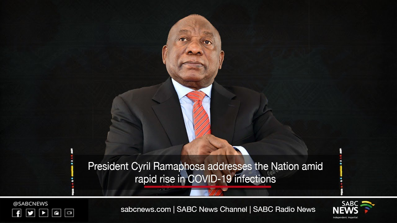 President Cyril Ramaphosa Nation Address 12 July 2020 Youtube