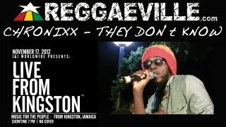 Смотреть клип Chronixx - They Don't Know