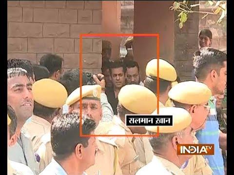 Blackbuck poaching case: Salman Khan gets number 106 & is lodged in Ward number 2, says DIG