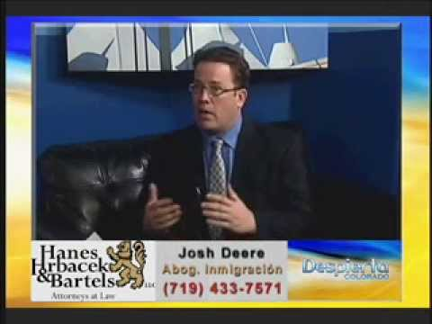 Immigration Attorney Josh Deere on Univision.wmv
