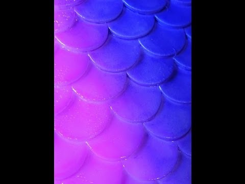 DIY: Silicone Mermaid Tail | Scales/Part 1