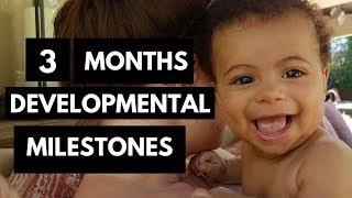 3 Months Developmental Milestones | Baby Developmental Milestones