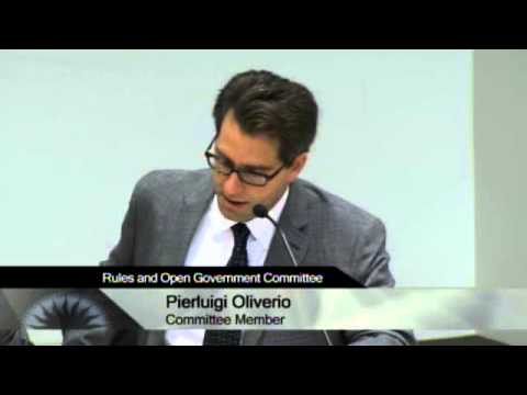01/09/13 - San Jose City Hall - Rules & Open Government Committee